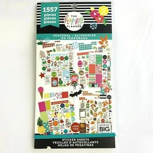 Happy Planner Stickers Seasonal Book